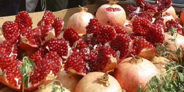 pomegranate fruit for sale
