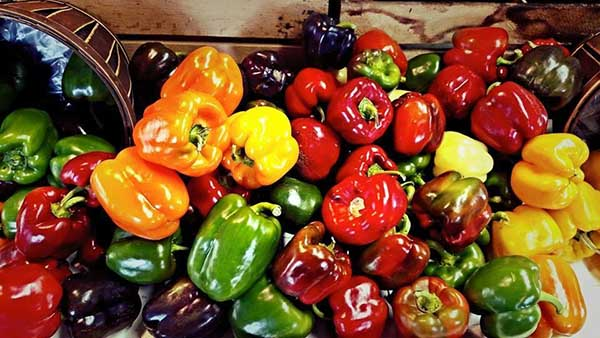 Bell peppers on sale this week