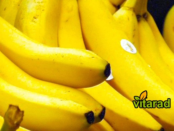 Banana imported from