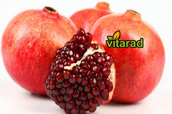 Export rate of pomegranate