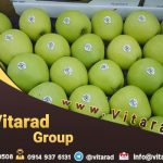 Yellow and red apple for sale